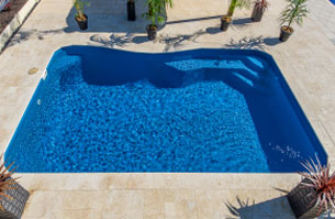 Fibreglass Pool - Montego