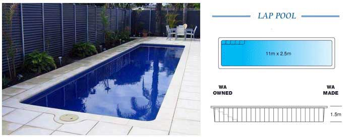 Lap Swimming Pools Fibreglass Lap Pools Melbourne Pools