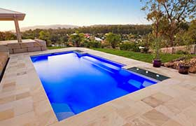 The visually stunning affordable fibreglass pools melbourne deserves for Small swimming pools melbourne